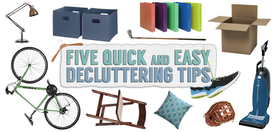 5 Quick and Easy Decluttering Tips to Get Organized image